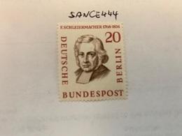 Berlin Famous F. Schleiermacher Theologian Mnh 1957 - [5] Berlin