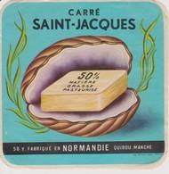 ETIQUETTE FROMAGE CARRE SAINT JACQUES - Fromage