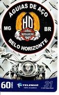 Carte Prépayée 120 Minutes  Brésil  Moto Cross Motor Bike Phonecard  (G 723) - Motorbikes