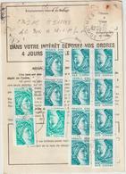 Ordre De Réexpédition Temporaire  Sabine  O. Nîmes -> Chorges - Marcophilie (Lettres)