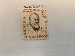 Berlin Famous L. Heck Zoologist Mnh 1957 - [5] Berlin