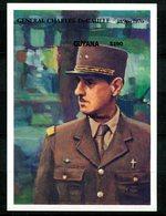Thème Général De Gaulle - Guyana Yvert BF 65 Non Dentelé - Neuf XXX - Lot 175 - De Gaulle (General)
