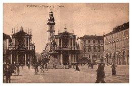 Torino - Piazza S. Carlo - Italia
