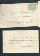 Chatellerault     - F.P. Naissance De  Albert Mascarel Le 27/01/1901  -  Pma 7309 - Birth & Baptism