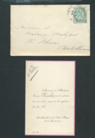 Chatellerault   - F.P. Naissance De  Nelly Ducellier Le 23/04/1904 -  Pma 7312 - Birth & Baptism
