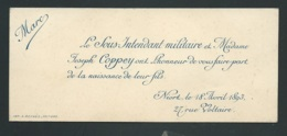 Niort   - F.P. Naissance De  Marc Coppey Le 18/04/1893  ( Sans Enveloppe )  -  Pma 73113 - Birth & Baptism