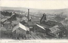 St Saint-Etienne - Mines: Puits Du Jardin Des Plantes - Carte LL N° 35 Non Circulée - Saint Etienne