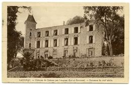 47 : LAUGNAC - CHATEAU DE QUISSAC - DEMEURE DU XVII SIECLE - Autres Communes