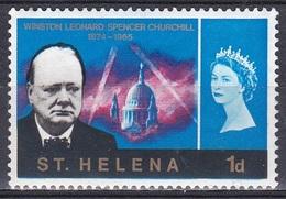 St. Helena 1966 Geschichte History Persönlichkeiten Politiker Politicians Literatur Literature Churchill, Mi. 171 ** - St. Helena