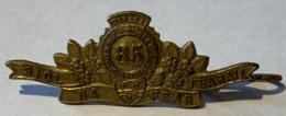Militaira. WW1. 85e Bataillon Nova Scotia Highlanders. Badge De Col. - 1914-18
