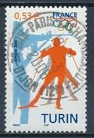 France - Jeux Olympiques D'Hiver De Turin YT 3876 Obl. - France