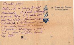 VP14.904 - MILITARIA - Guerre 14 / 18 - Citation Militaire Concernant Le Soldat Joseph TROUILLET - Documents
