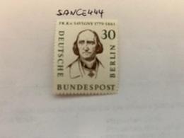 Berlin Famous F. Von Savigny Jurist Mnh 1957 - [5] Berlin