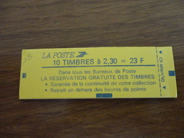 TIMBRE DE FRANCE CARNET 2614 C3 - Carnets