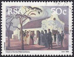 Afrique Du Sud, 1988, 50c, Eglise Du Serment (Yvert 682) - Afrique Du Sud (1961-...)