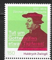 GERMANY, 2019, MNH, JOINT ISSUE WITH SWITZERLAND,  REFORMATION, RELIGION,1v - Emissioni Congiunte