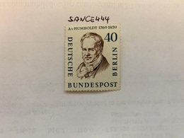 Berlin Famous A. Von Humboldt Geographer Mnh  1957 - [5] Berlin