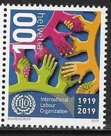 SWITZERLAND, 2019, MNH, ILO, INTERNATIONAL LABOUR ORGANIZATION,1v - Organisations