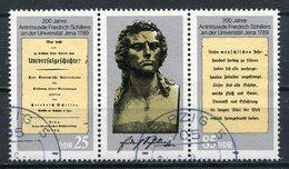 DDR Michel-Nr. 3254-3255 Dreierstreifen Gestempelt Tagesstempel - Usati