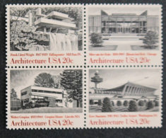 USA - ETATS UNIS D AMERIQUE - 1982 - 1450 à 1453 ** - Energies - Vereinigte Staaten