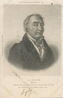 Jacques Antoine Dulaure Né à Clermont Archeologue Historien Député Envoi à Larodde - France