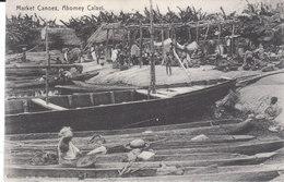 CPA ABOMEY CALAVI (TOGO) MARKET CANOES - Togo