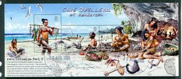 Pitcairn Islands 2006 Early Civilisation - 1st Issue - Cave Dwellers Of Henderson Island MS Used (SG MS720) - Stamps