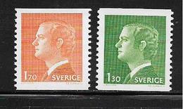SUEDE  ( EUSU - 207  ) 1978  N° YVERT ET TELLIER  N° 993/994   N** - Schweden