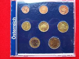 SERIE 8 MONETE EURO  AUSTRIA  DEL  2002 - Austria
