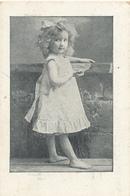 Early Advertisement Card,  Young Girl Posing, Heidenrijk, Koffie, Hoorn - Reclame