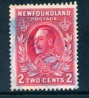 Newfoundland 1932 Definitives - 2c King George V Used (SG 210) - Newfoundland