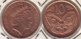Nuova Zelanda 10 Cents 2009 KM#117a - Used - Nuova Zelanda