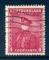 Newfoundland 1932-38 Definitives - 4c Duke Of Windsor Used (SG 224) - 1908-1947