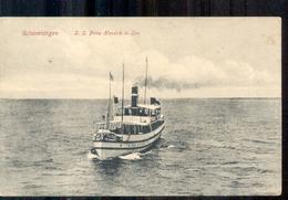 Scheveningen - SS Prins Hendrik In Zee Schip Boot - 1915 - Scheveningen