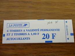 TIMBRE DE FRANCE CARNET 1507 - Carnets