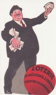 Publicité Loterie, Les Régions Libérées Contre Le Chomage - Advertising