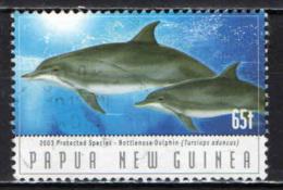PAPUA NUOVA GUINEA - 2003 - Endangered Dolphins - USATO - Papua Nuova Guinea