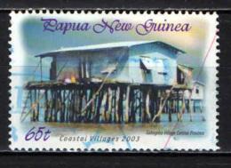 PAPUA NUOVA GUINEA - 2003 - Coastal Village: Gabagaba - USATO - Papua Nuova Guinea