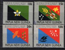 PAPUA NUOVA GUINEA - 2001 - Provincia Flags - USATI - Papua Nuova Guinea