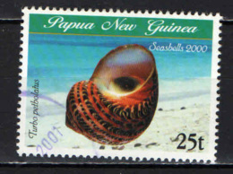PAPUA NUOVA GUINEA - 2000 - Shell: Turbo Petholatus - USATO - Papua Nuova Guinea