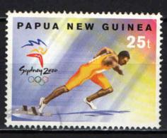 PAPUA NUOVA GUINEA - 2000 - Running - Summer Olypics Sydney - USATO - Papua Nuova Guinea