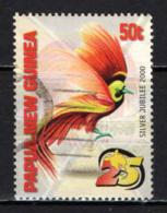 PAPUA NUOVA GUINEA - 2000 - Bird Of Paradise - USATO - Papua Nuova Guinea