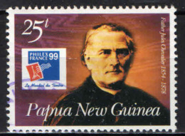PAPUA NUOVA GUINEA - 1999 - Frenchmen With Historical Ties To Papua New Guinea: Father Jules Chevalier - USATO - Papua Nuova Guinea