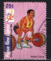 PAPUA NUOVA GUINEA - 1998 - Weight Lifting - USATO - Papua Nuova Guinea