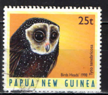 PAPUA NUOVA GUINEA - 1998 - Tyto Tenebricosa - USATO - Papua Nuova Guinea