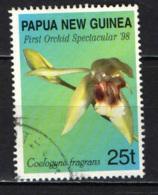 PAPUA NUOVA GUINEA - 1998 - First Orchid Spectacular '98: Coelogyne Fragrans - USATO - Papua Nuova Guinea