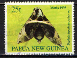 PAPUA NUOVA GUINEA - 1998 - Daphnis Hypothous Pallescens - USATO - Papua Nuova Guinea