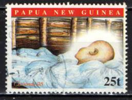 PAPUA NUOVA GUINEA - 1998 - Christmas: Infant In Manger - USATO - Papua Nuova Guinea