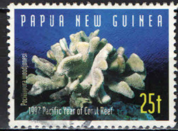 PAPUA NUOVA GUINEA - 1997 - Coral: Pocillopora Woodjonesi - USATO - Papua Nuova Guinea