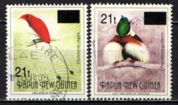 PAPUA NUOVA GUINEA - 1995 - Birds - Overprinted - USATI - Papua Nuova Guinea